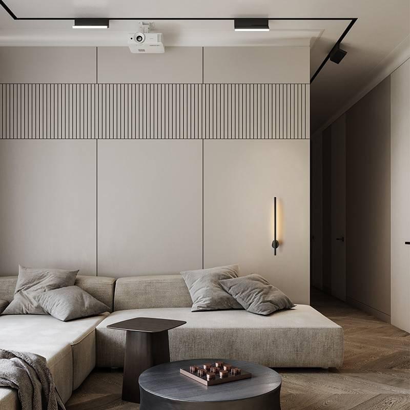 Modern Long-Strip Minimalist LED Wall Lamp Indoor Wall Lamps
