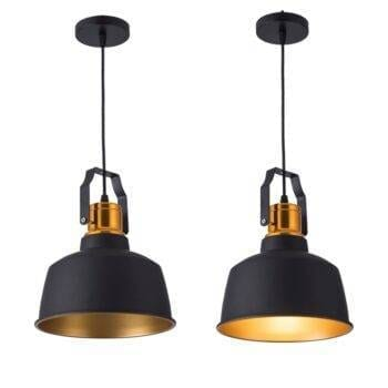 Vintage Loft Golden Pendant Dining Lamp Ceiling Pendant Lights