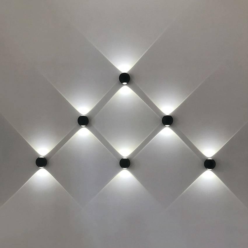 Indoor/Outdoor Up & Down Lighting LED Wall Lamps Indoor Wall Lamps