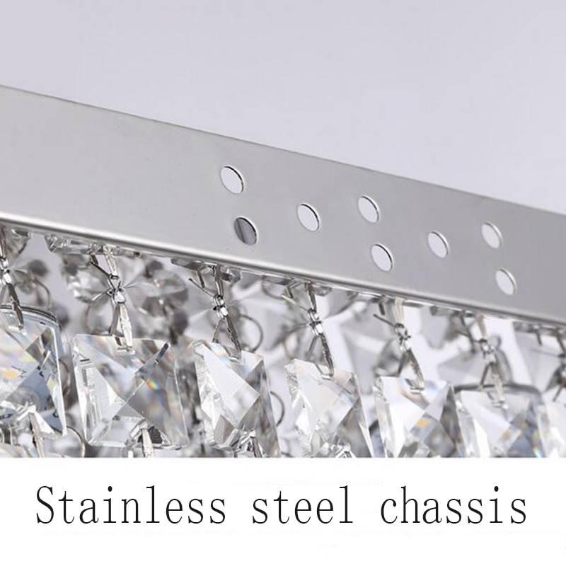 Elegant Square Design High-End Crystal Chandelier Chandeliers