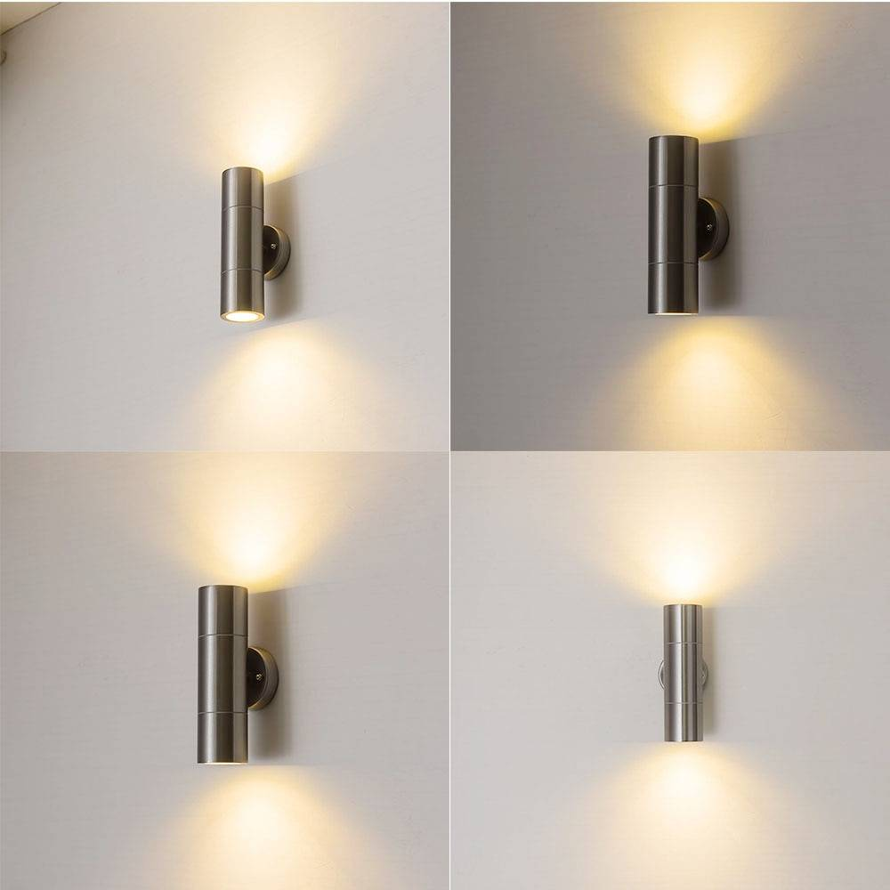 Up/Down Light LED Wall Lamp for Indoor and Outdoor Exterior Wall Lamps Indoor Wall Lamps
