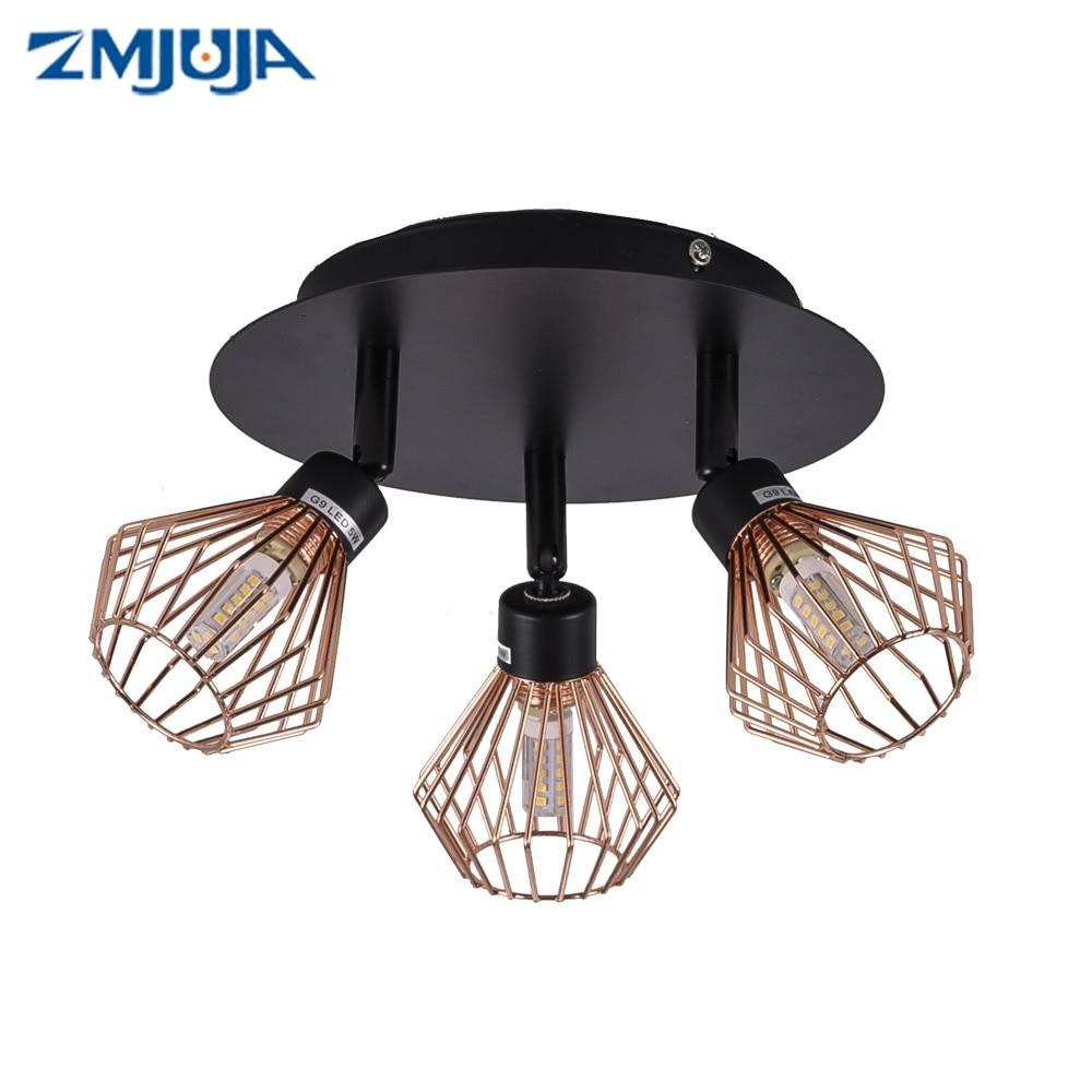 LOFT Modern Retro Black Ceiling luminaire Fixture Ceiling Downlights