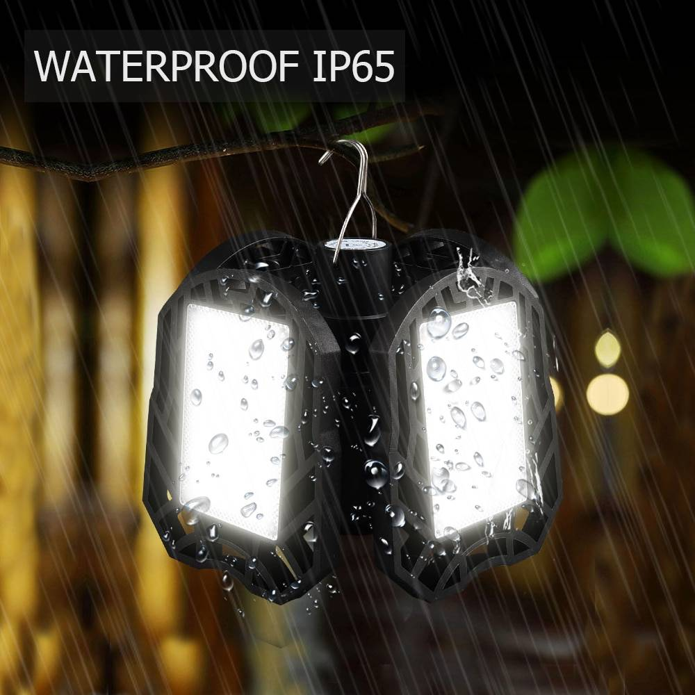 Rechargeable LED Camping Foldable Lantern | For Camp Tent Fishing Lanterns & Work Lights