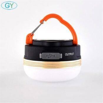 Portable LED Camping Tent Lantern with Power Bank Lanterns & Work Lights