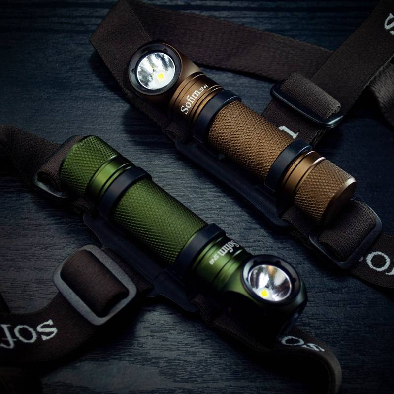 New Color Sofirn SP40 LED Headlamp | USB Rechargeable Headlight | Flashlight with Magnet Tail Flash Lights & Head Lamps