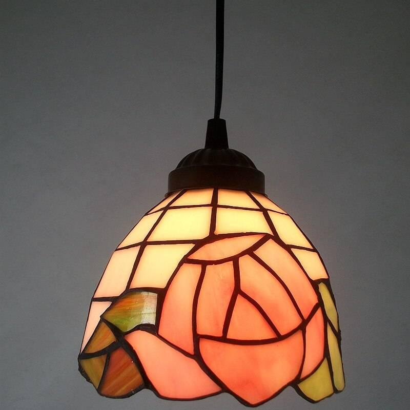 Spanish Minimalist Retro Mosaic Tiffany Pendant Ceiling Pendant Lights