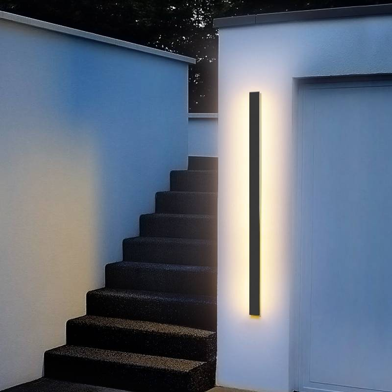 Exterior Wall Lamp | LED Dimmable Light With Urban Cool Design Exterior Wall Lamps