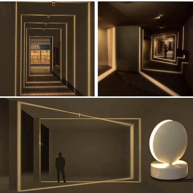 Door Frame Rays Effect Corridor LED Wall Lamps Exterior Wall Lamps Indoor Wall Lamps