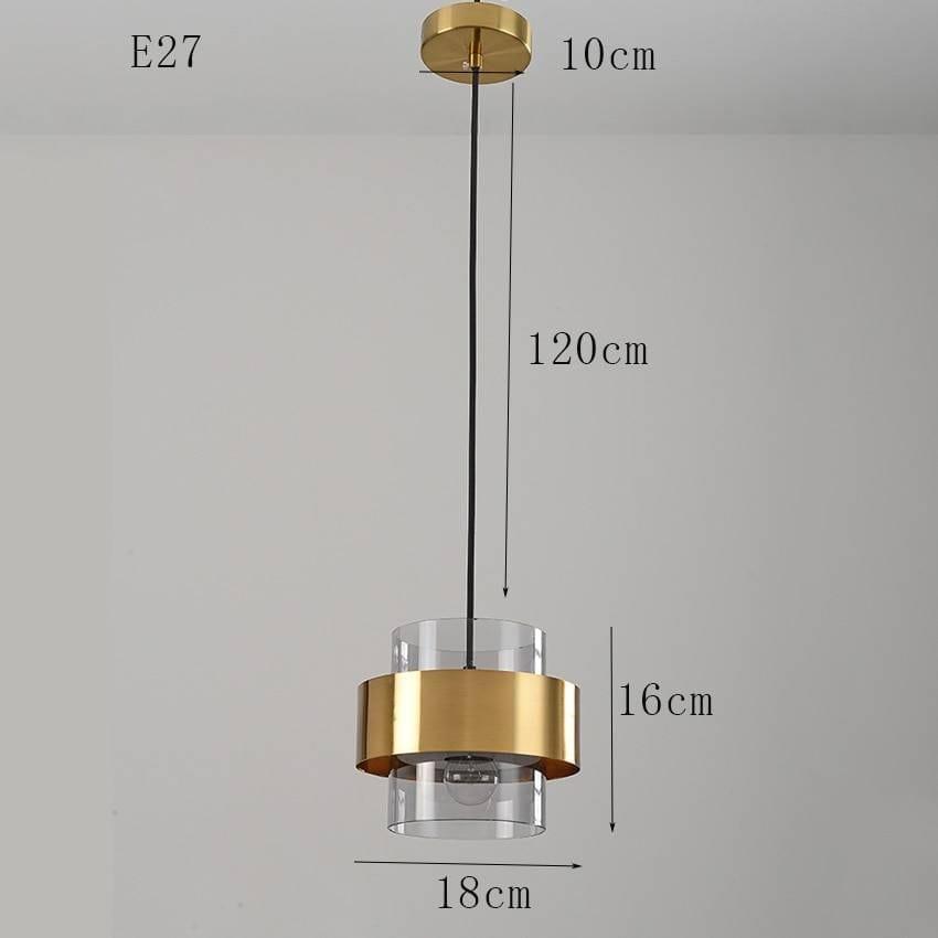 Nordic Style Golden Pendant Lighting Ceiling Pendant Lights
