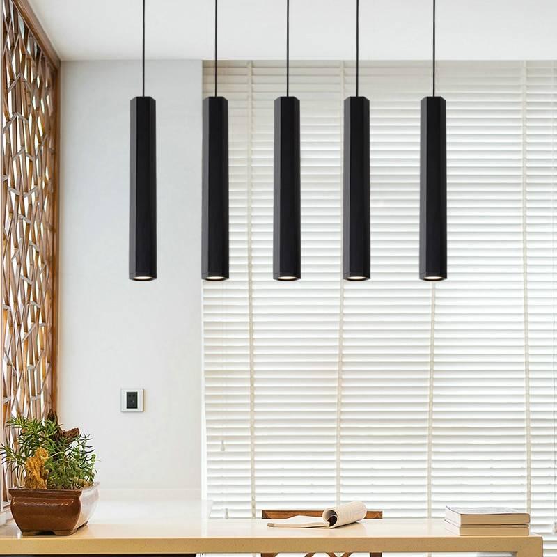 Modern Hexagonal Bar Ceiling Pendant Lamp Ceiling Pendant Lights