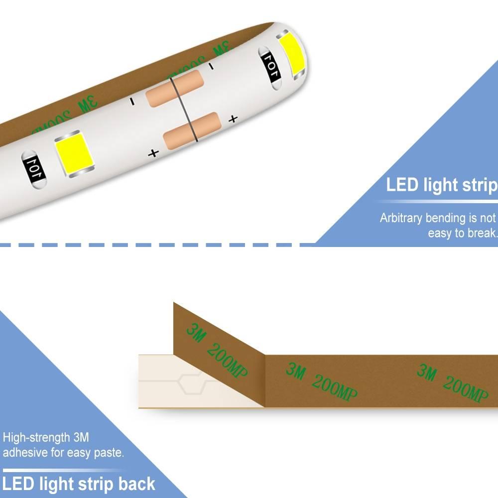 MakeupVanity MirrorUSB LED LightStrip Vanity Lights