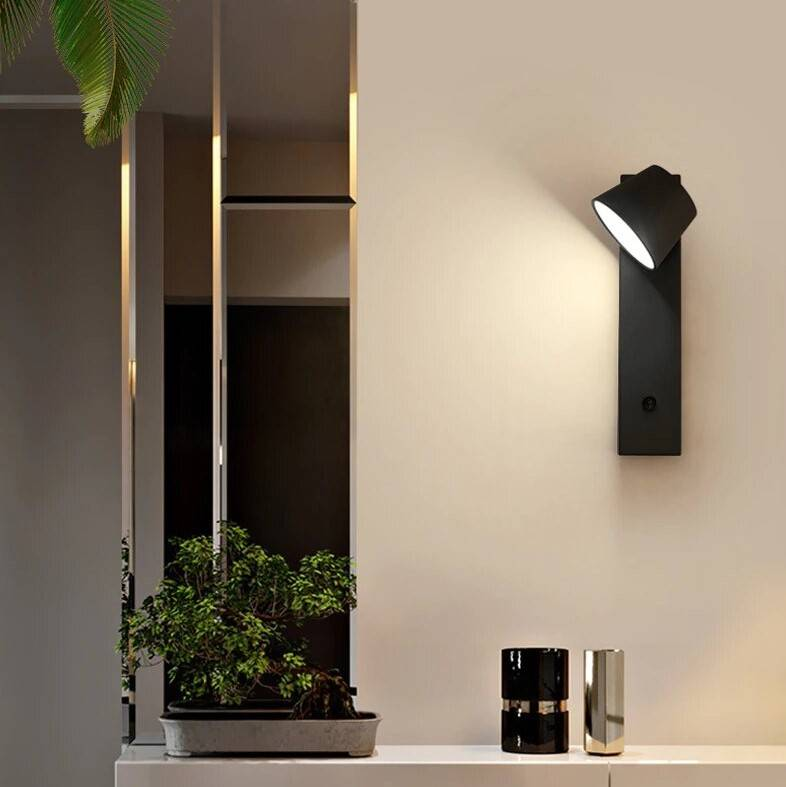 Modern LED Bedside Sconce Wall Lamp Indoor Wall Lamps