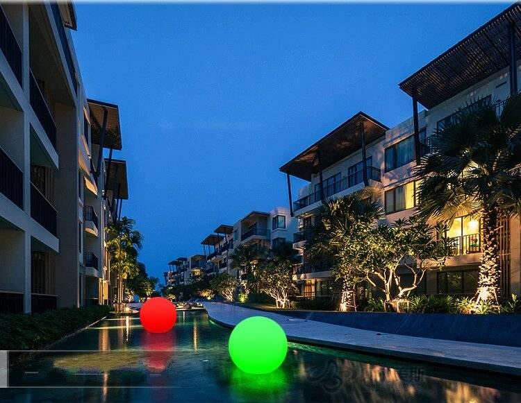 Outdoor Remote LED Garden Ball Lights Garden Decorative Lights Underwater Lights