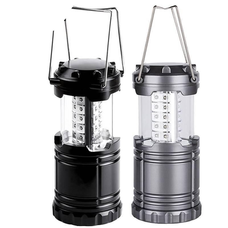 30LED Portable Camping Lantern Flashlight Flash Lights & Head Lamps Lanterns and Work Lighting