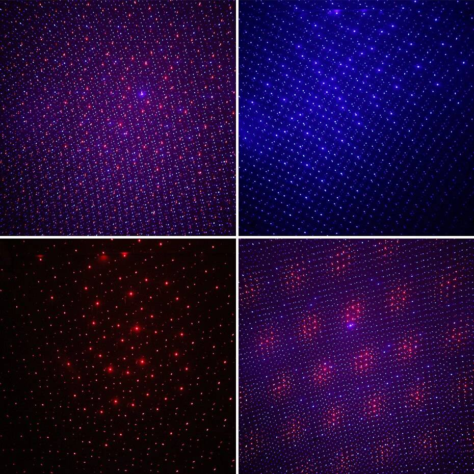 Christmas Laser Star Light Display Projector Holiday Decoration Lights